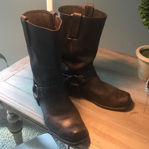 Men's Frye Harness Boots preowned
